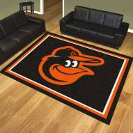 Baltimore Orioles Bird Logo 8' x 10' Area Rug