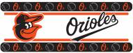 Baltimore Orioles Bird Logo Wall Border