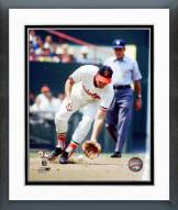 Baltimore Orioles Brooks Robinson 1970 World Series Action Framed Photo