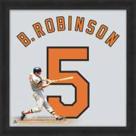 Baltimore Orioles Brooks Robinson Uniframe Framed Jersey Photo