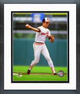 Baltimore Orioles Cal Ripken Jr. 1982 Action Framed Photo