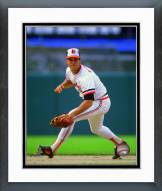 Baltimore Orioles Cal Ripken Jr. 1986 Action Framed Photo