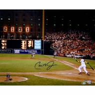 "Baltimore Orioles Cal Ripken Jr. '2131 Shot' Signed 16"" x 20"" Photo"