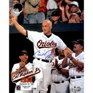 "Baltimore Orioles Cal Ripken Jr. 2632 Signed 16"" x 20"" Photo"
