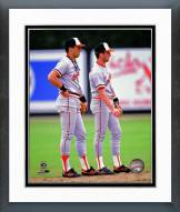 Baltimore Orioles Cal Ripken Jr. & Billy Ripken Framed Photo