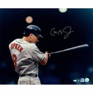 "Baltimore Orioles Cal Ripken Jr. ""Close up Batting - Waist up"" Signed 16"" x 20"" Photo"