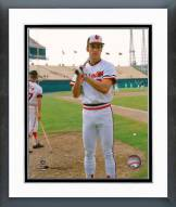 Baltimore Orioles Cal Ripken Jr. Posed Framed Photo