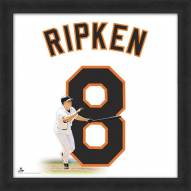 Baltimore Orioles Cal Ripken Jr. Uniframe Framed Jersey Photo
