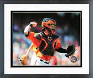 Baltimore Orioles Caleb Joseph 2014 Action Framed Photo