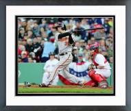 Baltimore Orioles Caleb Joseph 2015 Action Framed Photo