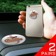Baltimore Orioles Cell Phone Grips - 2 Pack