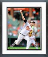 Baltimore Orioles Chris Tillman 2014 Action Framed Photo