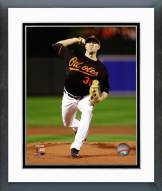 Baltimore Orioles Chris Tillman 2014 AL Championship Framed Photo