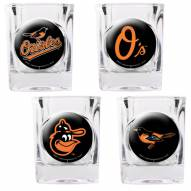 Baltimore Orioles Collector's Shot Glass Set