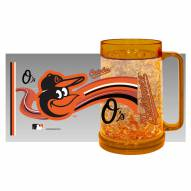 Baltimore Orioles Crystal Freezer Mug