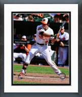 Baltimore Orioles David Lough 2014 Action Framed Photo