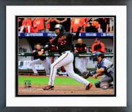 Baltimore Orioles Delmon Young 2014 AL Division Series Framed Photo