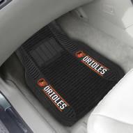Baltimore Orioles Deluxe Car Floor Mat Set
