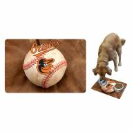 Baltimore Orioles Dog Bowl Mat