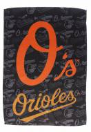 Baltimore Orioles Double Sided Glitter Garden Flag