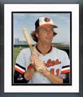 Baltimore Orioles Doug DeCinces poseed with bat Framed Photo
