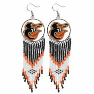 Baltimore Orioles Dreamcatcher Earrings