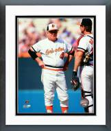 Baltimore Orioles Earl Weaver 1986 Action Framed Photo