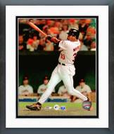Baltimore Orioles Eddie Murray 500th Home Run Action Framed Photo