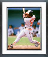 Baltimore Orioles Eddie Murray Action Framed Photo