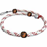 Baltimore Orioles Frozen Rope Baseball Necklace