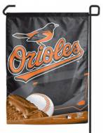 "Baltimore Orioles Bird 11"" x 15"" Garden Flag"