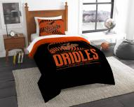 Baltimore Orioles Grand Slam Twin Comforter Set