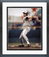 Baltimore Orioles Jim Palmer Pitching Action Framed Photo