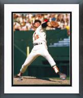 Baltimore Orioles Jim Palmer Pitching Arm Back Framed Photo