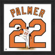 Baltimore Orioles Jim Palmer Uniframe Framed Jersey Photo