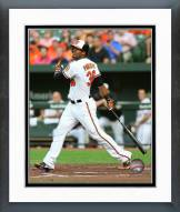 Baltimore Orioles Jimmy Paredes 2015 Action Framed Photo
