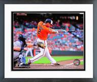 Baltimore Orioles J.J. Hardy 2014 Action Framed Photo