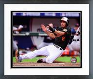 Baltimore Orioles J.J. Hardy 2014 AL Division Series Action Framed Photo