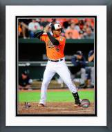 Baltimore Orioles Jonathan Schoop 2014 Action Framed Photo
