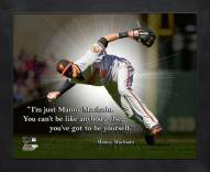 Baltimore Orioles Manny Machado Framed Pro Quote