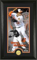 Baltimore Orioles Manny Machado Supreme Bronze Coin Photo Mint