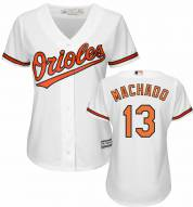 Baltimore Orioles Manny Machado Women's Replica Home Baseball Jersey