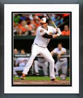 Baltimore Orioles Matt Wieters 2014 Action Framed Photo