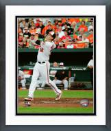 Baltimore Orioles Matt Wieters 2015 Action Framed Photo