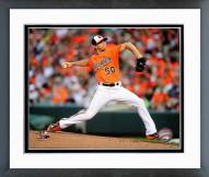 Baltimore Orioles Miguel Gonzalez 2014 Action Framed Photo