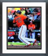 Baltimore Orioles Nelson Cruz 2014 Action Framed Photo