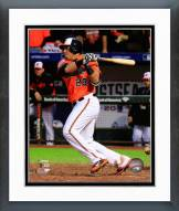 Baltimore Orioles Nelson Cruz 2014 AL Championship Series Action Framed Photo