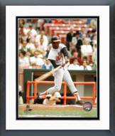 Baltimore Orioles Paul Blair Batting Framed Photo