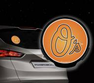 Baltimore Orioles Light Up Power Decal