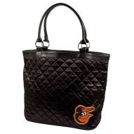 Baltimore Orioles Quilted Tote Bag